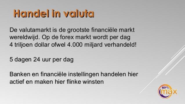 Forex 1 handel per dag