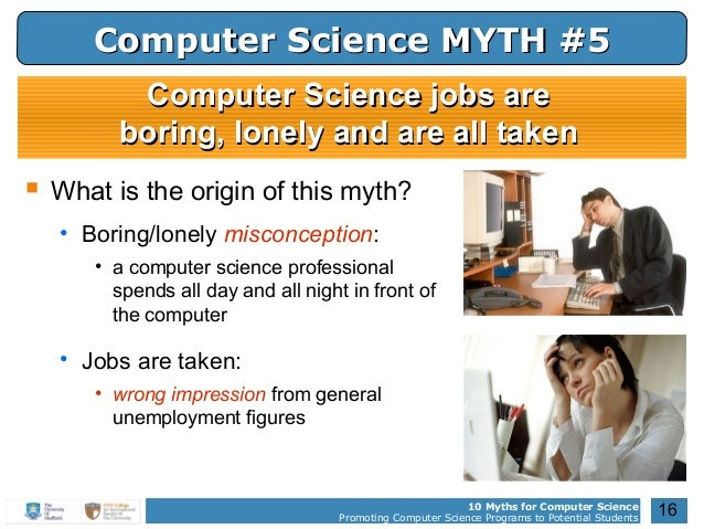 what do computer scientists do