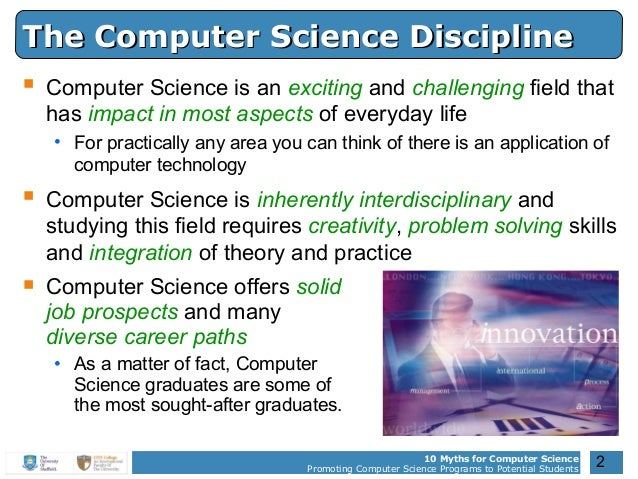 10 Myths for Computer Science Promoting Computer ...