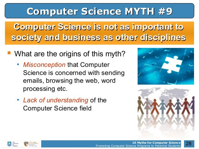 10 Myths for Computer Science ...