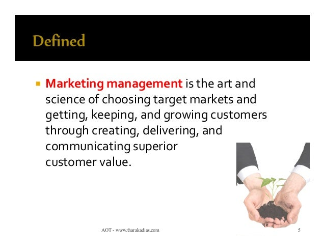 5 marketing management concepts Explore the core concepts of modern marketing management to develop your own effective customer-centric marketing strategy.