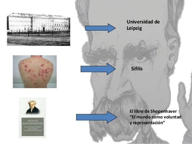 """Sífilis Universidad de Leipzig El libro de Shopenhaver """"El mundo como voluntad y representación"""""""