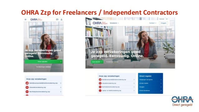 OHRA Zzp for Freelancers / Independent Contractors