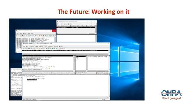 The Future: Working on it