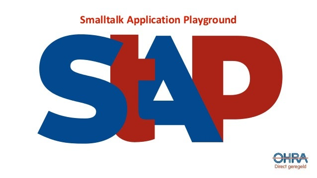 Smalltalk Application Playground
