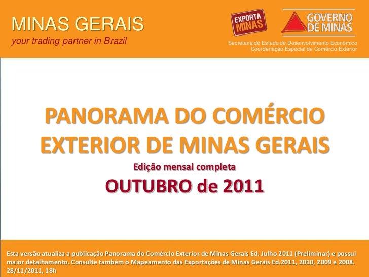 MINAS GERAIS your trading partner in Brazil                                          Secretaria de Estado de Desenvolvimen...