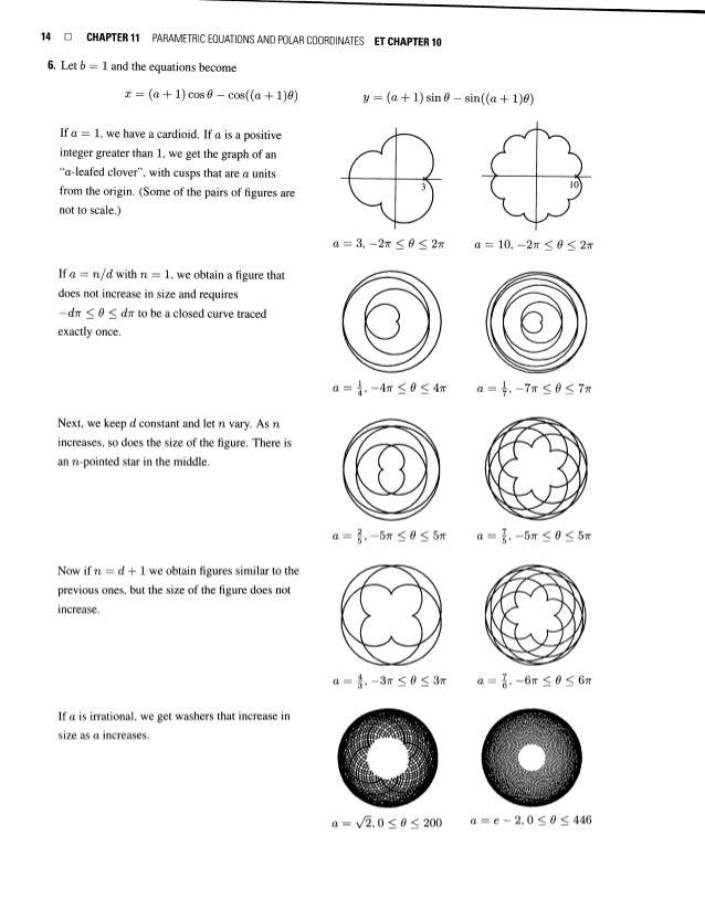 10 parametric equations %26 polar coordinates