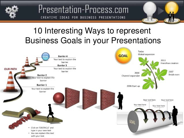 10 Ways To Show Powerpoint Goals Creatively