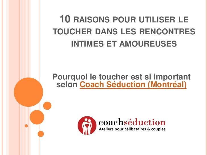 10 RAISONS POUR UTILISER LETOUCHER DANS LES RENCONTRES    INTIMES ET AMOUREUSESPourquoi le toucher est si important selon ...