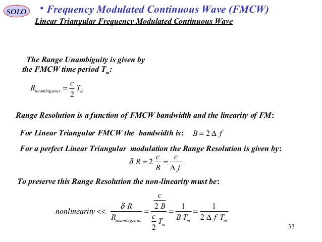 Fmcw Radar Matlab