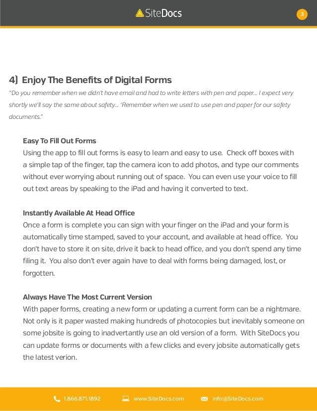 10 reasons you'll love SiteDocs