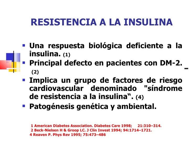 Resistencia insulina bajar de peso