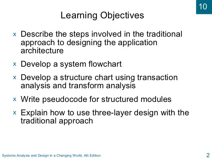 describe the application architecture and process 11 phase c: information systems architectures - application architecture process/application creating new architecture content to describe the.