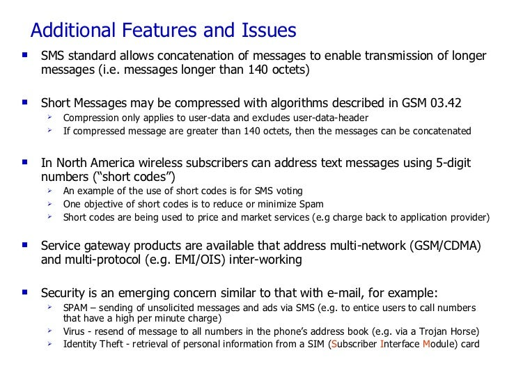10 Slides to SMS