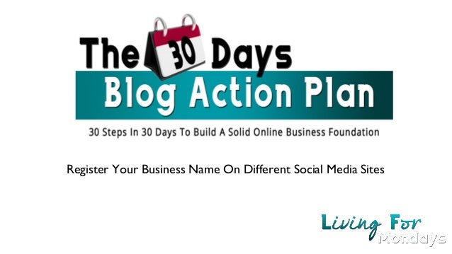 Register Your Business Name On Different Social Media Sites