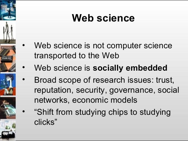 Web Science: the digital heritage case Slide 3