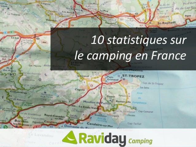 10 statistiques sur le camping en France