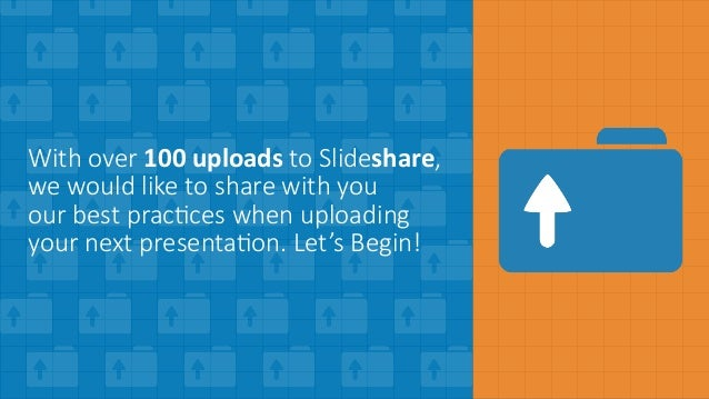STOP! VIEW THIS! 10-Step Checklist When Uploading to Slideshare Slide 2