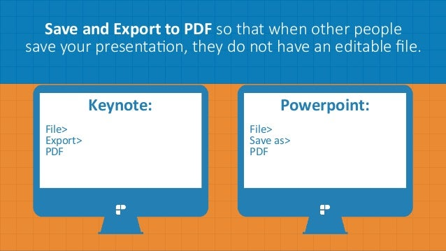 How To Powerpoint From Slideshare Not Pdf