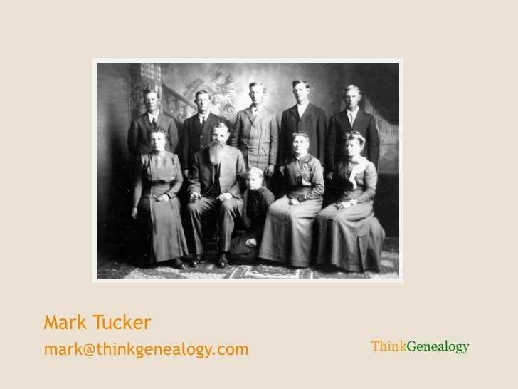 Mark Tucker [email_address]