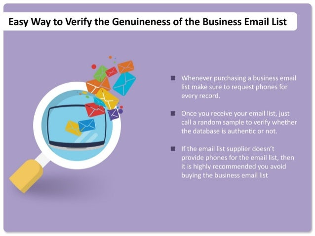 10 Things To Know Before Buying An Email List