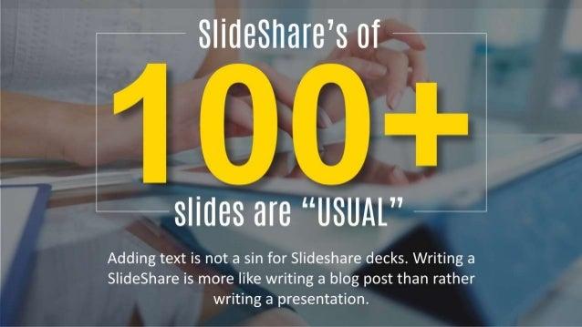 10 tips for amazing slideshares Slide 3
