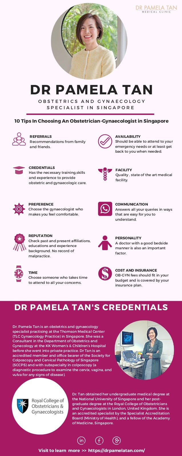 10 Tips-Choosing Obstetrician Gynaecologist Singapore