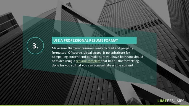 10 tips to make your resume better