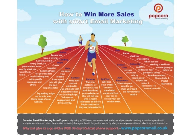 10 tips to win more sales with smarter email Marketing infographic