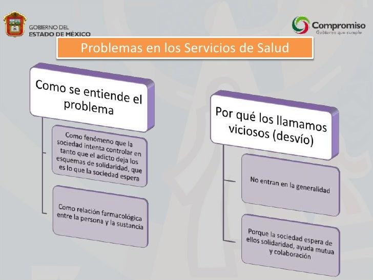 Problemas en los Servicios de Salud<br />