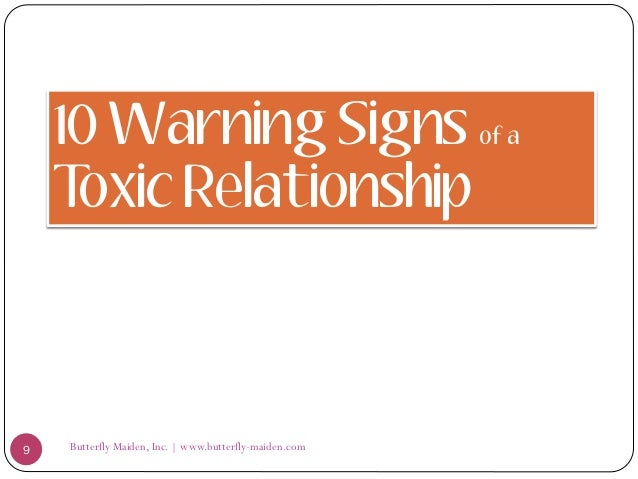 25 signs of toxic relationship