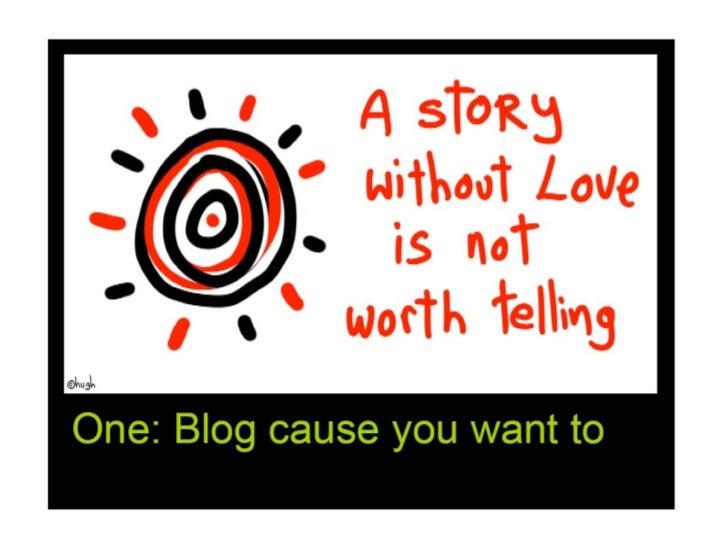 10 Ways to a Killer Blog Slide 2