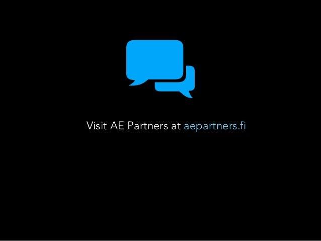 Visit AE Partners at aepartners.fi