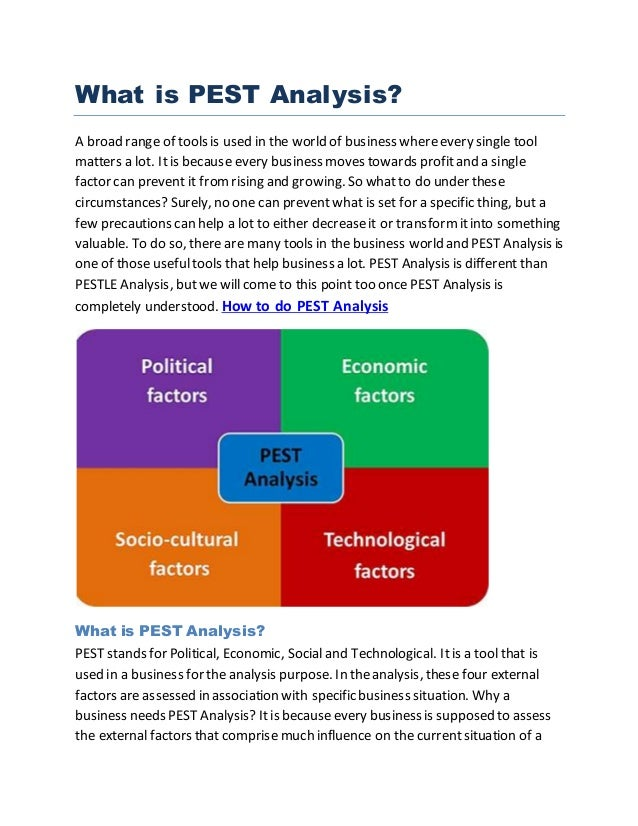 pest analysis of cimb