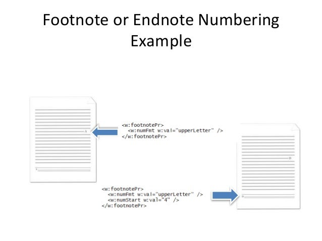 how to change footnote numbers in word