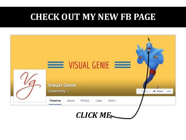 CHECK OUT MY NEW FB PAGE CLICK ME