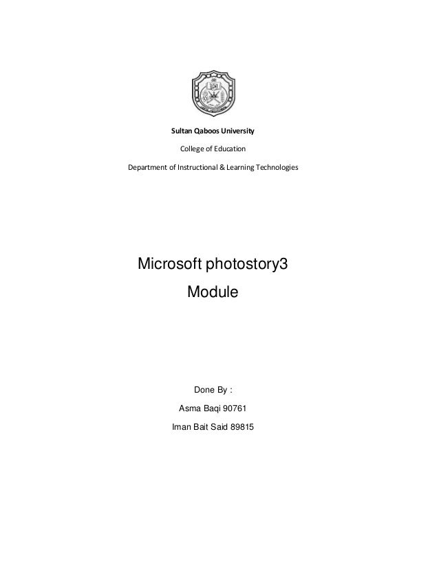 Sultan Qaboos University               College of EducationDepartment of Instructional & Learning Technologies  Microsoft ...