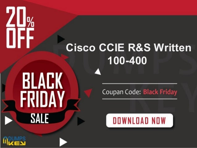 Presentation Title Your company information Cisco CCIE R&S Written 100-400