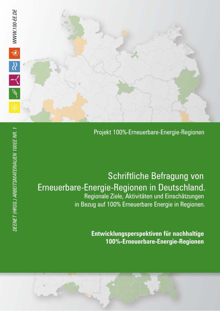WWW.100-EE.DE DEENET (HRSG.) ARBEITSMATERIALIEN 100EE NR. 1                                                               ...