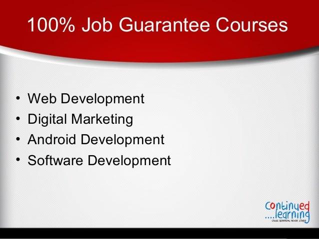 Digital Marketing Course Job Guarantee