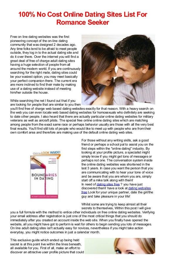 Good online dating profiles examples men