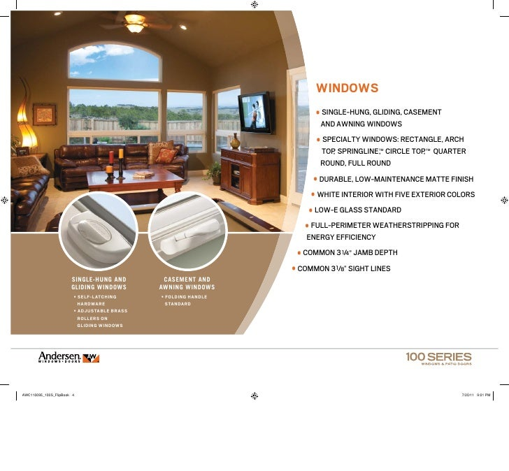 Andersen 100 Series Product Presentation