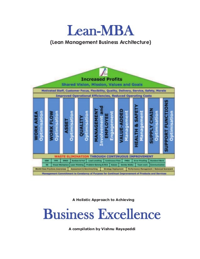 Lean mba e book lean mba lean management business architecture a holistic approach to achieving business excellence fandeluxe Image collections