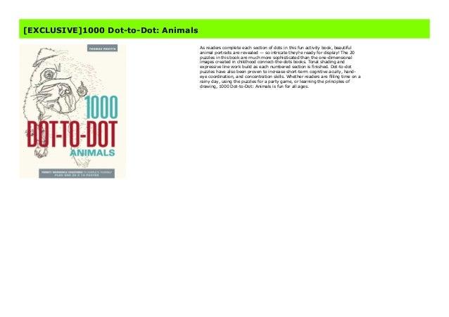 Animals 1000 Dot-to-Dot