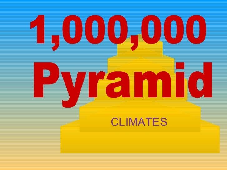 1,000,000 Pyramid CLIMATES