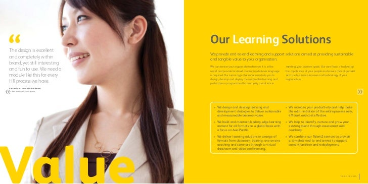 Our Learning SolutionsThe design is excellent                                    We provide end-to-end learning and suppor...