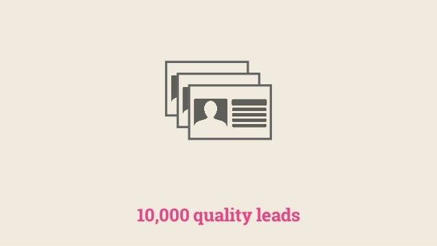 10,000 quality leads