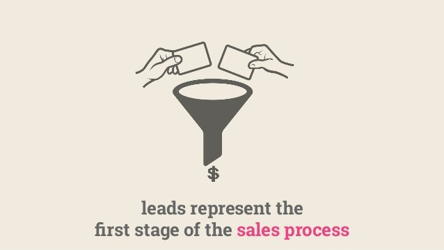 leads represent the first stage of the sales process
