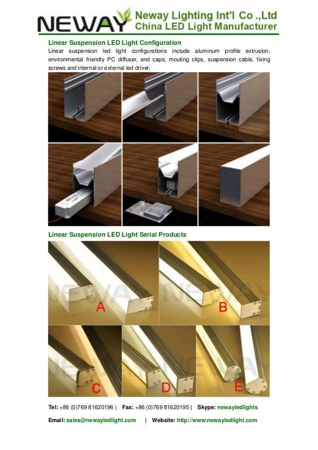 led linear light suppliers 日本語