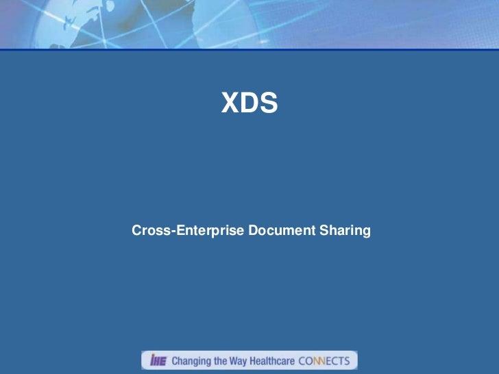 XDSCross-Enterprise Document Sharing